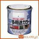 アサヒペン 水性多用途カラー 0.7L 白 460714 1399