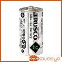 TRUSCO アルカリ乾電池 単2 2個入 TLR14GP2S 8037