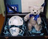 Steiff 绒毛玩具泰迪熊熊限定Steiff Teddybear 限定生产德国熊的绒毛玩具【由于申请参加Steiff日本限定迈森泰迪熊2000【音乐gifu包装】【音乐gifume[シュタイフ ぬいぐるみ テディベア くま 限定 Steiff Teddybear 限