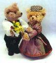 【送料無料】シュタイフテディベア2003年世界限定500体The Bridegroom&Th