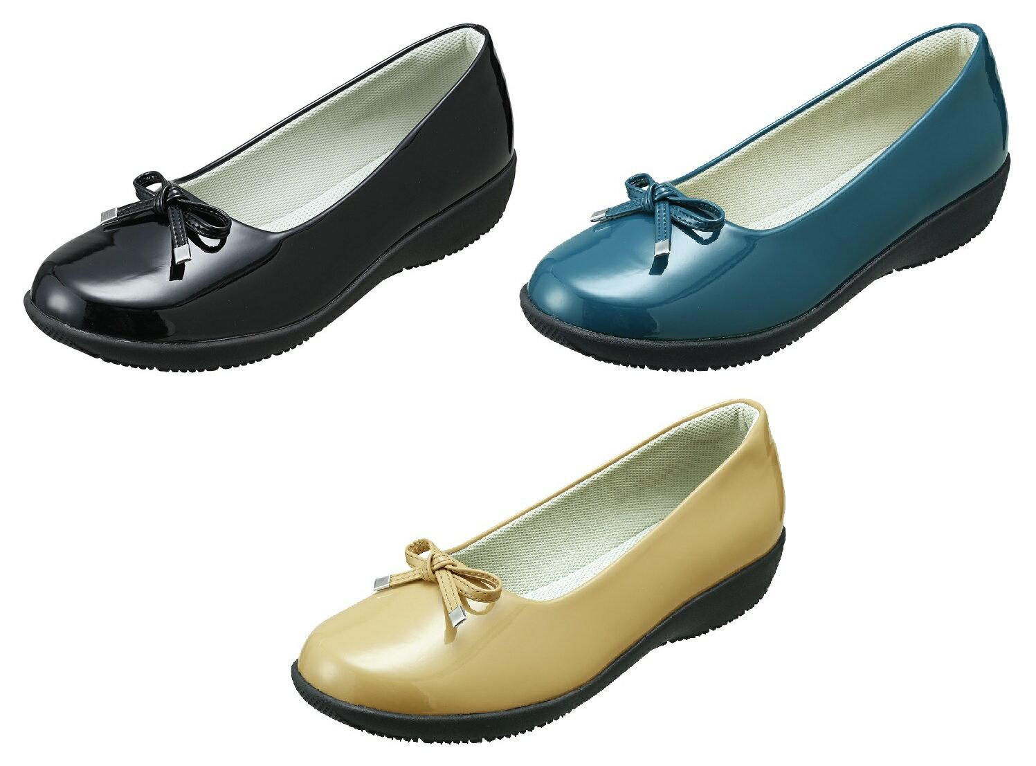 パンジー 靴 レインシューズ母の日婦人用 雨靴Pansy レディース防水設計 優しい足あたり4934