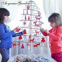 クリスマスツリー/折りたたみ式 ウッドツリー/クリスマス/木...