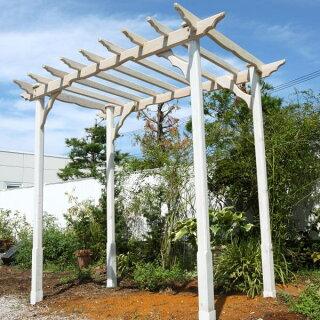 レッドシダー天然木製AGプレミアムパーゴラ(国産)