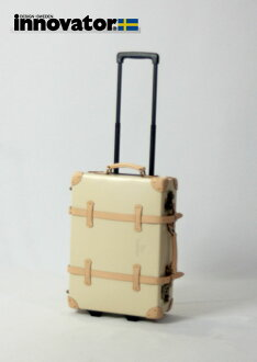 Vintage innovator innovator trunk 50 cm (Beige) suitcase carry bag carry case fs3gm