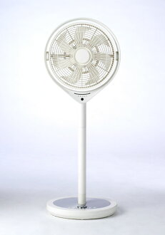 Way of circulator economy in power consumption, static sound stands type neck mounted with [ドウシシャ] kamomefan gull fan electric fan KAM-LV1302D WH DC fan, timer wireless remote controller fs3gm belonging to