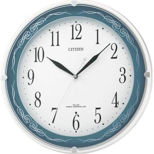 시티즌/ネムリーナクライス 전파 벽 시계 4MYA13-004 단계 초침 (스텝 무브먼트) 시계 (전파 시계/시계)