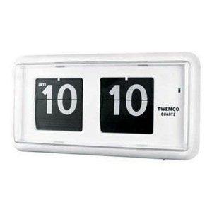 TWEMCO社クロック(QT-30)ホワイト置き時計【楽ギフ_包装】【楽ギフ_のし】【楽ギフ_のし宛書】】【P1014】【秋1014-I】送料無料【春の新生活フェア2012】【P0501】【P0504】