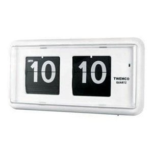 TWEMCO's clock ( QT-30 ) white quartz type clocks ( clocks )