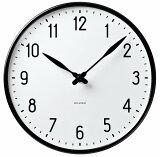 [3��������5%OFF�����ݥ�]Arne Jacobsen(����͡��䥳�֥���) Wall Clock���ơ��������å� (29cm)��43643 �ݻ��סʳݤ����ס� ����̵��