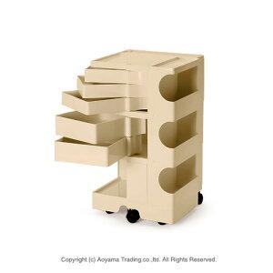 ボビーワゴン3段5トレー[ベージュ]【正規品】【2年保証・シリアルナンバー付き】BOBYWAGON(3段5トレイ)B-LINE(ビーラインBLINE)送料無料