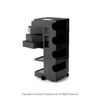 Bobby wagon 4 4 tray [Black] BOBY WAGON (4 tray 4) b-line (Beeline B LINE)