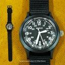 ミリタリーウォッチとして有名なBENRUSベンラスの腕時計[3点購入で5%OFFクーポン]BENRUS ベンラスウォッチ(ブラック) 腕時計 メンズ 送料無料