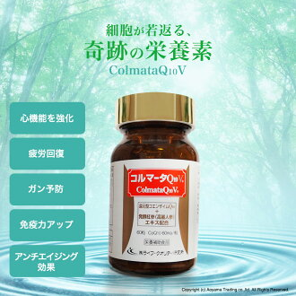 ■ reduced Coenzyme Q10 ( curtain ) コルマータ Q and 10 V60mg the strongest combination supplements ( supplement )! ] fs3gm