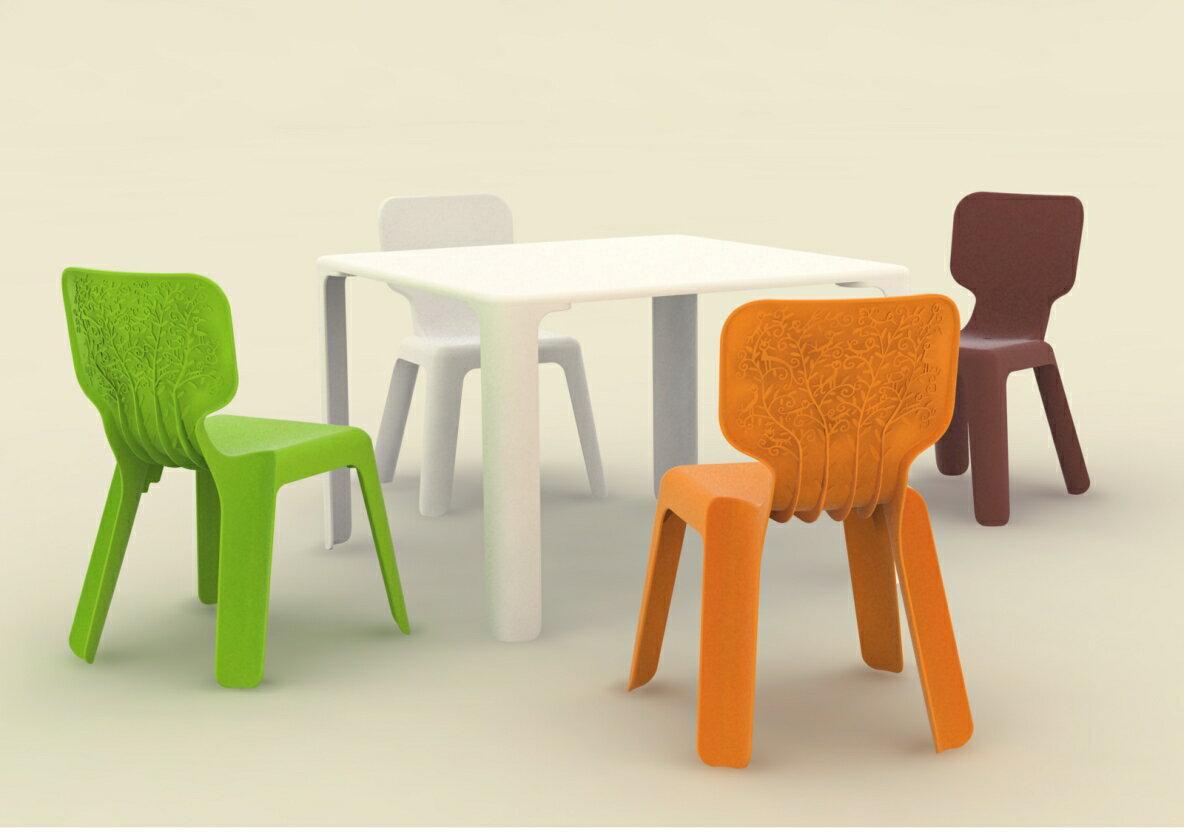 [スマホエントリーでポイント最大19倍]MAGIS(マジス)Alma(アルマ)キッズチェアー(ホワイト) MT160 イタリア製・椅子(いす)送料無料 イタリア家具