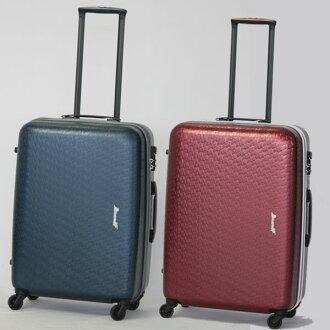 24 Branif ブラニフ / suitcase travel carry light weight vintage zipper case BBT-22-Z-48L