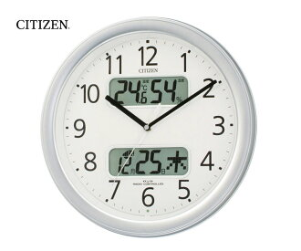 Citizen digital Thermo-hygrometer and radio controlled clock with calendar ( clock ) ネムリーナ calendar M01 4FYA01-019