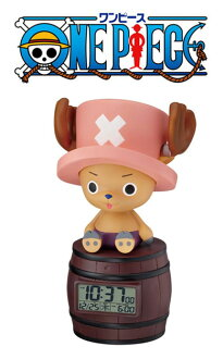 Rhythm clock alarm clock Tony Tony chopper one piece 8RDA51RH06 ONEPIECE alarm clock / めざまし clock