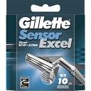 【P&G】ジレット センサーエクセル専用替刃10個入