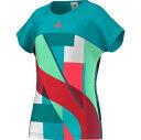 【30%OFF】アディダス(adidas)GアディゼロTシャツ(BEB89)AJ3267:ショックグリーン S16/ショックレッド S16 【ジュニア/ガールズ/女の子】●テニス/Jrゲームシャツ(1512)16ss