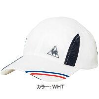 ルコックスポルティフ(le coq sportif) キャップ 帽子 (18SS) ホワイト QTALJC00-WHT【P8T】の画像