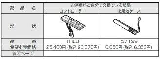 托托電池案例 57199 溫控器巴士水龍頭只有 TEB1RX/LX 備品備件