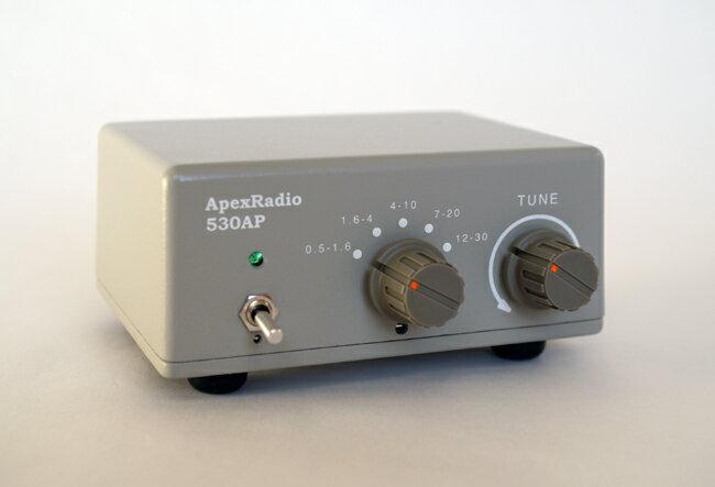 ApexRadio 530AP 中短波受信用アクティブプリセレクタ