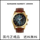 【送料無料】キャサリンハムネット/メンズ腕時計/腕時計/その他/カーフ/クロコダイル型押し/クロノグラフ/男性/WATCH/CHRONOGRAPH2_KH28F034