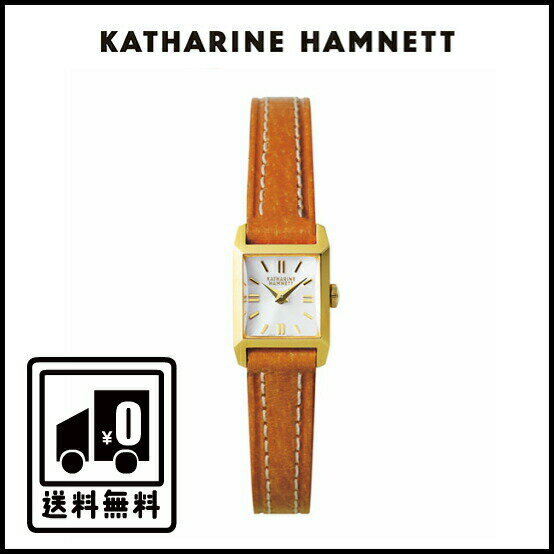 【送料無料】キャサリンハムネット/レディース腕時計/腕時計/その他/レザー/カーフ/女性/WATCH/781Y3830/KH88D4-14 KATHARINE HAMNETT 1stコレクションからの復刻モデル/ヴィンテージウォッチ/シンプルなデザイン/レザー(豚革)