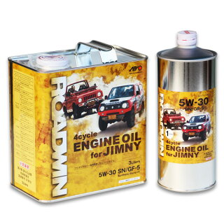 ROADWINエンジンオイル・4Lセットジムニー専用のエンジンオイル普通車ジムニーに最適な4リットルセット