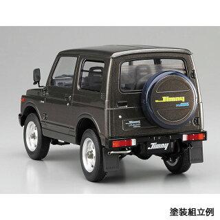 ハセガワ1/24スケールプラモデルSUZUKIJIMNYJA11V-5スズキジムニーJA11-5型