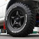 WILDBOAR X 15インチ ガンブラック BFGoodrich Mud-Terrain T/A 215/75R15 1台分 4本セット ジムニーJB43,JB33,JB32,JB31用 ジムニータイヤ&ジムニーホイールセット 1005042