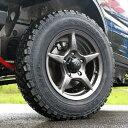 WILDBOAR X & YOKOHAMAジオランダーM/T+(185/85R16)ジムニータイヤ&ジムニーホイール4本セット タイヤホイール組付&バランサー料金込み