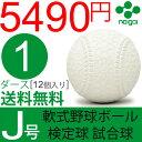 ナイガイ 軟式野球ボール J号 検定球 試合球 公認球 小学...