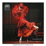 2019英国ロイヤルバレエ団カレンダー (ROYAL BALLET)バレエ ギフト プレゼント 人気商品 バレリーナ