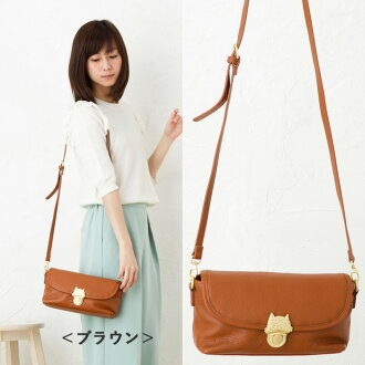 Tsumori Chisato tsumori Chisato カリヤネコ shoulder bag (small) Carrie