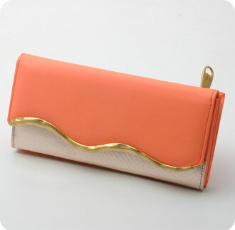 Strips snake wallet ( outside zipper ) Carrie tsumori Chisato tsumori chisato CARRY