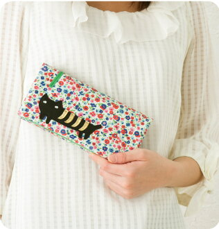 Tsumori Chisato flower cat wallets purse tsumori Chisato Carrie