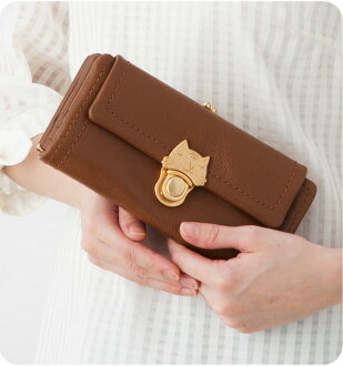 Tsumori Chisato カリヤネコ long wallet tsumori Chisato Carrie