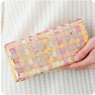 ツモリチサト MIX 메쉬 장 지갑 ツモリチサト 지갑 ツモリチサト 캐리