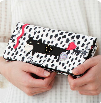 Tsumori Chisato ネコドロップ wallets purse tsumori Chisato Carrie