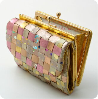 Tsumori Chisato purse MIX mesh deck still goods cloth tsumori Chisato Carrie