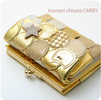 Tsumori Chisato wallet multiplayer dots tags still goods cloth tsumori Chisato Carrie
