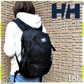 ヘリーハンセン 秋新作 サンドヴィーク18 ブラック  リュックサック リュック 鞄 バッグ アウトドア   HELLY HANSEN Sandvik 18 18L K HOY91509