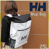 ヘリーハンセン 2017秋新作 マップバッグ ホワイト リュックサック  リュック  鞄 バッグ アウトドア HELLY HANSEN Map Bag W HY91358