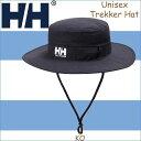 ヘリーハンセン  トレッカーハット 帽子 ハット 紫外線対策 日焼け アウトドア 山登り ハイキング HELLY HANSEN Trekker Hat KO メンズ レディース ユニセックス ブラックオーシャン