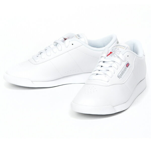 white reebok princess tennis shoes