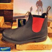 ブランドストーン ブラック/レッド スムースレザー Blundstone BS508 Black/Red  ブラック/レッド スムースレザー サイドゴア ブーツ サイドゴアブーツ ユニセックス レディーズ ウィメンズ メンズ