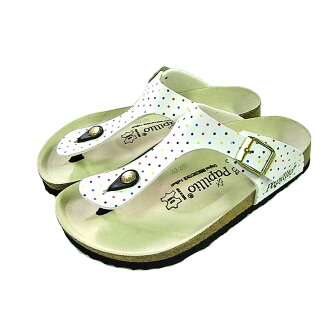 50% Off special price on weekdays in order to 1:00 PM on the same day is shipped papirio Birkenstock guise Wilco flow multi dot Special Edition Papillio by Birkenstock Gizeh Birko Flor DD Multi Dots