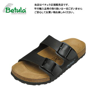 Betula by Birkenstock Boogie black clock Sandals / comfort Sandals ビルコフロー Betula By Birkenstock Boogie Black Birko Flor