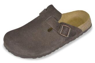 Betula by Birkenstock rock brown suede clock / comfort Sandals Betula By Birkenstock Rock DarkBrown Suede